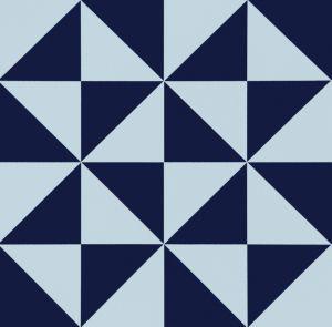 Blue Decoration Tile for Living Room Spanish Style20*20cm