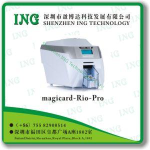 리오 직업적인 Single-Sided ID 카드 인쇄 기계