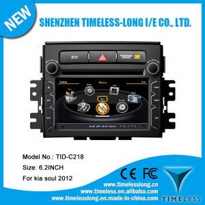 Automobile Audio per KIA Soul 2012 con Costruire-nella chipset RDS BT 3G/WiFi DSP Radio 20 Dics Momery (TID-C218) di GPS A8