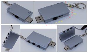 2015 новой моды уникальный Логотип металлический диск USB