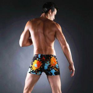 Aqua Shorts, carré de la jambe maillot de bain pour l'homme natation