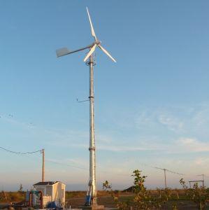 Tono de 2kw de China controlada por la alta eficiencia de la turbina de viento