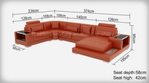LED 빛과 저장 디자인을%s 가진 G8023 고품질 현대 디자인 거실 가구