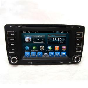 Doppio BACCANO Car Stereo con Navigation Sat Nav per Volkswagen Skoda Octavia