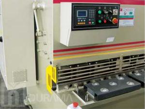 Máquina que pela de la guillotina hidráulica de QC12y