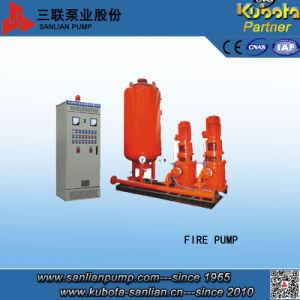 Avec l'unité de contrôle de la pompe incendie Penal