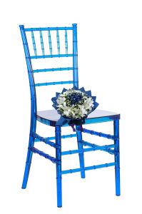 Fashion Salon를 위한 명확한 Blue Beautiful Chiavari Chair