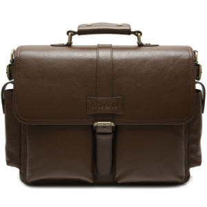 Высокое качество моды натуральная кожа дамской сумочке мужчин портфель (CSB266-001)