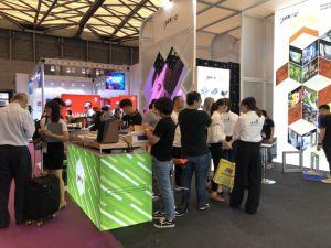 Shanghai Expo Trade Show Regime Shell Booth Exibir parar de concepção e construção da Cabine de exposições