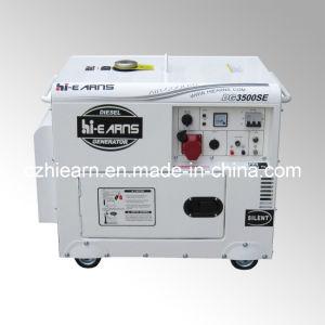 Vérin unique de type silencieux Air-Cooled Générateur Diesel trois Phase (DG3500SE3)