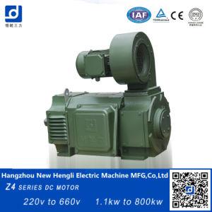 Electircal 650V 115kw 850rpm del motor de CC