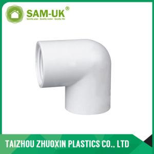El precio bajo la norma ASTM D2466 Sch40 Los adaptadores de PVC blanco Una04