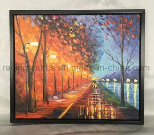 Het acryl moderne Art. van het Olieverfschilderij van de Kunst van de Verf l-Vorm Frame