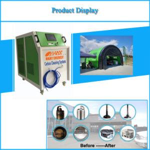 Coche de combustible agua Kit de limpieza de carbono del motor generador de HHO hidrógeno Oxy