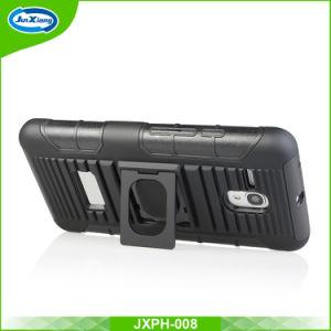 車の電話ホールダーを持つAlcatel 5025のためのスリップ防止縞パターンクリップホルスターの薬莢
