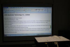 Gebürtiger Projektor des Unterhaltungs-Projektor-720p 1280*768 der Auflösung-LED