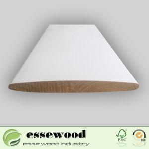 Ventana de madera interior de la imprimación de obturador Obturador de la Plantación de persiana ciega