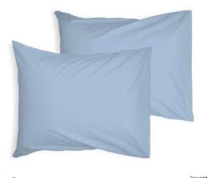 Polialgodón ama de casa par Pack tapa almohadón blanco