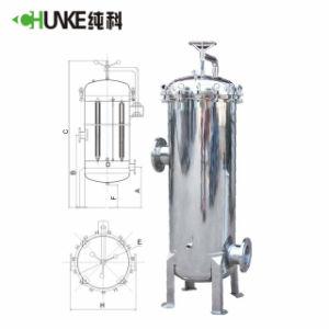 Cartouche d'Chunke purificateur d'eau du boîtier de filtre