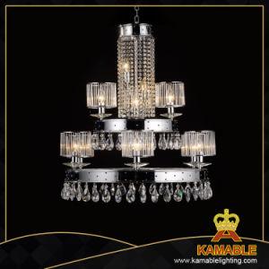 Spezielle Entwurfs-Kerze-Kristallleuchter für Hotel