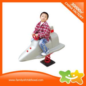 De mini Apparatuur van het Spel van de Meisjes van de Jongens van de Rit van Battleplane Kiddie voor Verkoop