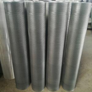 Malha de metal expandido de alumínio para filtro