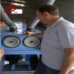 Extractor de fumos de solda do filtro do coletor de pó