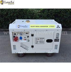 防音10kVA 10 KVAのディーゼル発電機のポータブルの価格