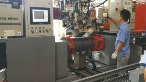 50kg LPG 실린더 두 배 헤드 완곡한 용접 기계
