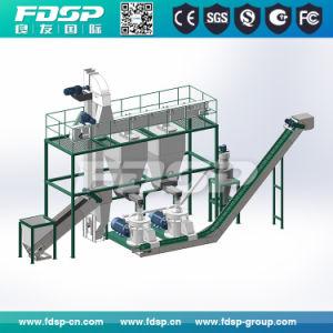 A elevada eficiência de combustível de biomassa de madeira da linha de produção de pelotas