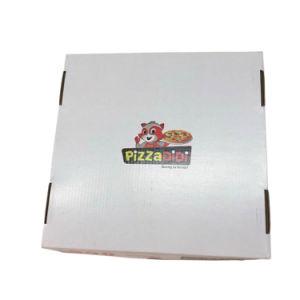 أبيض 12 بوصة يغضّن عامة علامة تجاريّة بيتزا [بكينغ بوإكس]