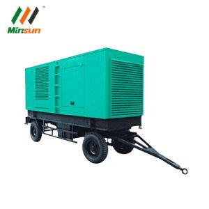 250kVA 이동할 수 있는 트레일러 디젤 발전기
