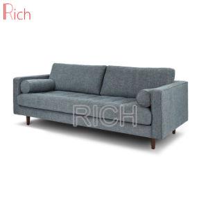 Modernes zwei Sitznordisches Gewebe-Wagen-Sofa-Set