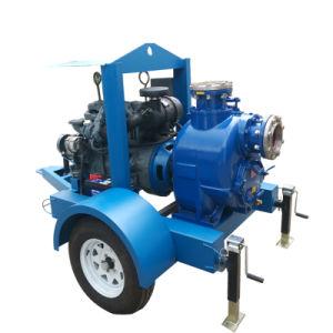 3 Zoll-Dieselmotor-horizontale zentrifugale Abwasser-Pumpe