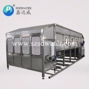 Автоматическая 150bph 3-5 галлон воды розлива машина