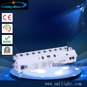 Indicatore luminoso a pile/6in della rondella della parete della radio DMX LED 1 indicatore luminoso a pile della barra della radio DMX del LED
