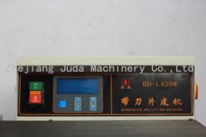 Sacchetto di scissione della macchina della lama di fascia del PLC di larghezza di alta precisione 420mm che fa macchinario