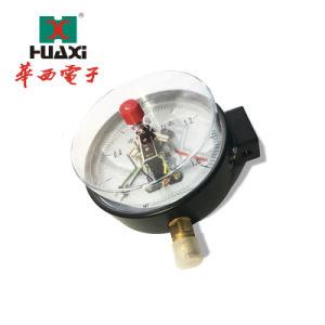 Manometro elettrico del contatto di grande induzione fotoelettrica con tipo duraturo manometri elettrici commerciali del contatto del diametro