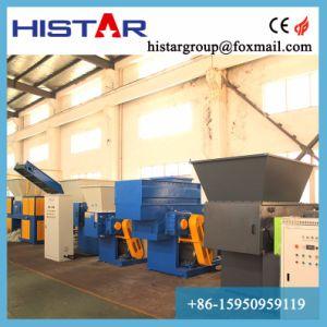 Máquina trituradora de papel corrugado para la reducción del tubo de HDPE