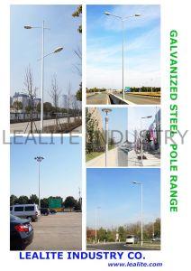 Kundengerechte Beleuchtung Pole, S355 Grad galvanisierte Stahlbeleuchtung Pole