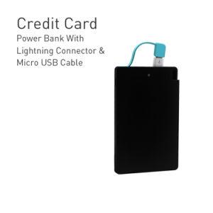 2500 mAh de energía portátil compacto Scharge Banco Universal externo