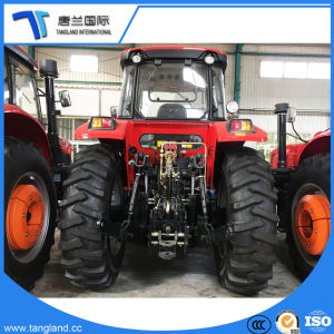 160HP 4*4WD Agriculturial/de Tractor van de Dieselmotor/van het Landbouwbedrijf/van de Bouw