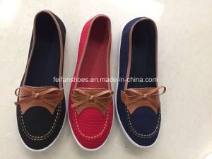 Cómodo y agradable mujer Casual Zapatos de lona Py180609-73 Injeciton