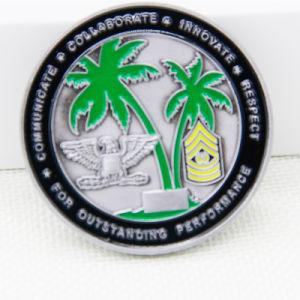 カスタマイズされ、良質の第2柔らかいエナメルの挑戦硬貨