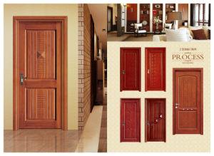 Un style moderne simple porte sculptée porte en bois de l'intérieur de l'artisanat