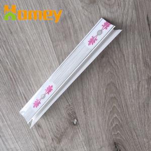 Accessoires en plastique PVC plastifié Plafond de panneaux muraux Clip de coin