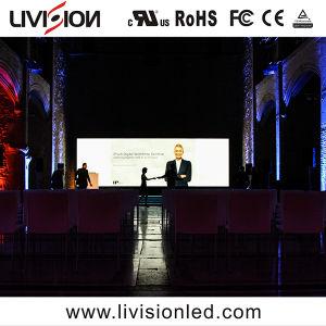 SMD LED2121 Fase P3.9 Aluguel de fundo do visor LED U. S