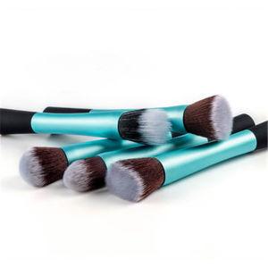 5PCS de kosmetische Reeksen van de Borstel voor Vrouwen met Plastic Handvat