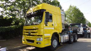 Sinotruk HOWO 6*4のトラクターのトラックの全体寸法6800X2496X2958