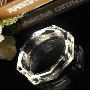 Portacenere a cristallo di vetro quadrato di Fastion per la decorazione dell'hotel